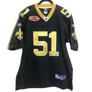 New Orleans Saints Super Bowl Jersey #51 Vilma
